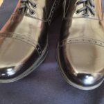 ツヤ 革靴
